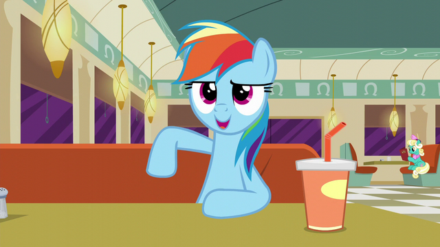 "File:Rainbow Dash ""I sound just like her!"" S6E9.png"