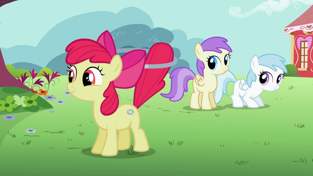 File:Apple Bloom happy from her new talent S2E6.png