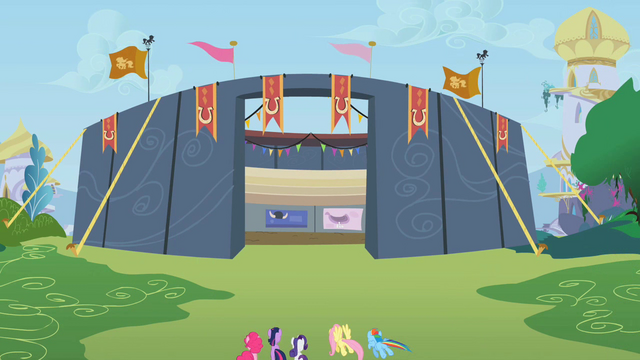 File:Equestria Rodeo competition stadium in Canterlot S2E14.png
