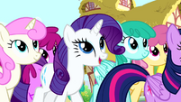 Rarity 'Your party sounds simply divine' S4E12