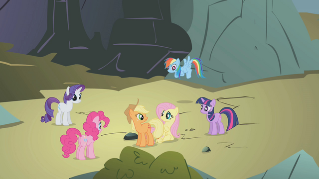 "File:Fluttershy calls dragons ""terrifying"" S1E07.png"