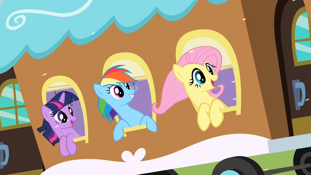 File:Ponies on a train to Canterlot S02E11.png