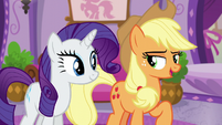 """Applejack """"ready for some serious relaxation"""" S6E10"""