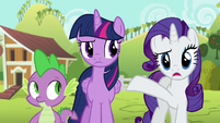 """Rarity """"are you certain everything you just did"""" S6E10"""