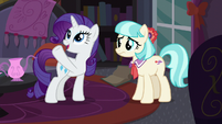 "Rarity ""you'll be up to your mane in ponies"" S5E16"
