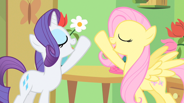 File:Rarity & Fluttershy hope to fly S1E20.png