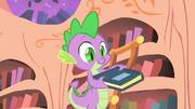 Spike found the book S1E24