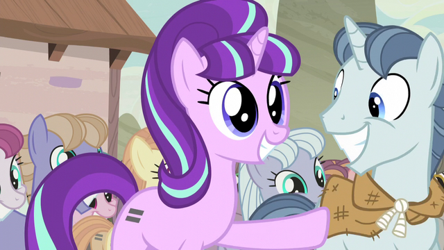 File:Starlight excitedly pushes Party Favor aside S5E2.png