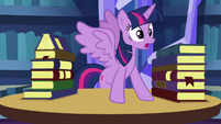 "Twilight ""I wanna do something"" S5E16"