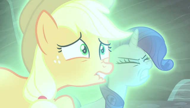 File:Applejack and Rarity in agony S5E1.png