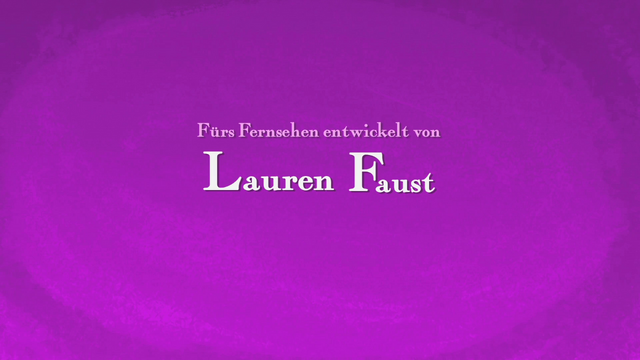 File:German 'Developed for Television by Lauren Faust' Credit - Home Media Only.png