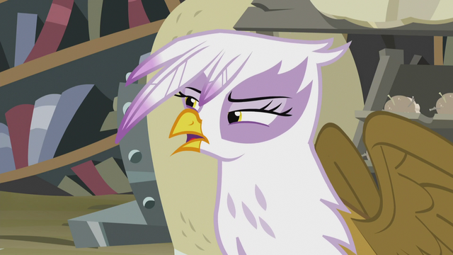 "File:Gilda ""What are you talking about?"" S5E8.png"