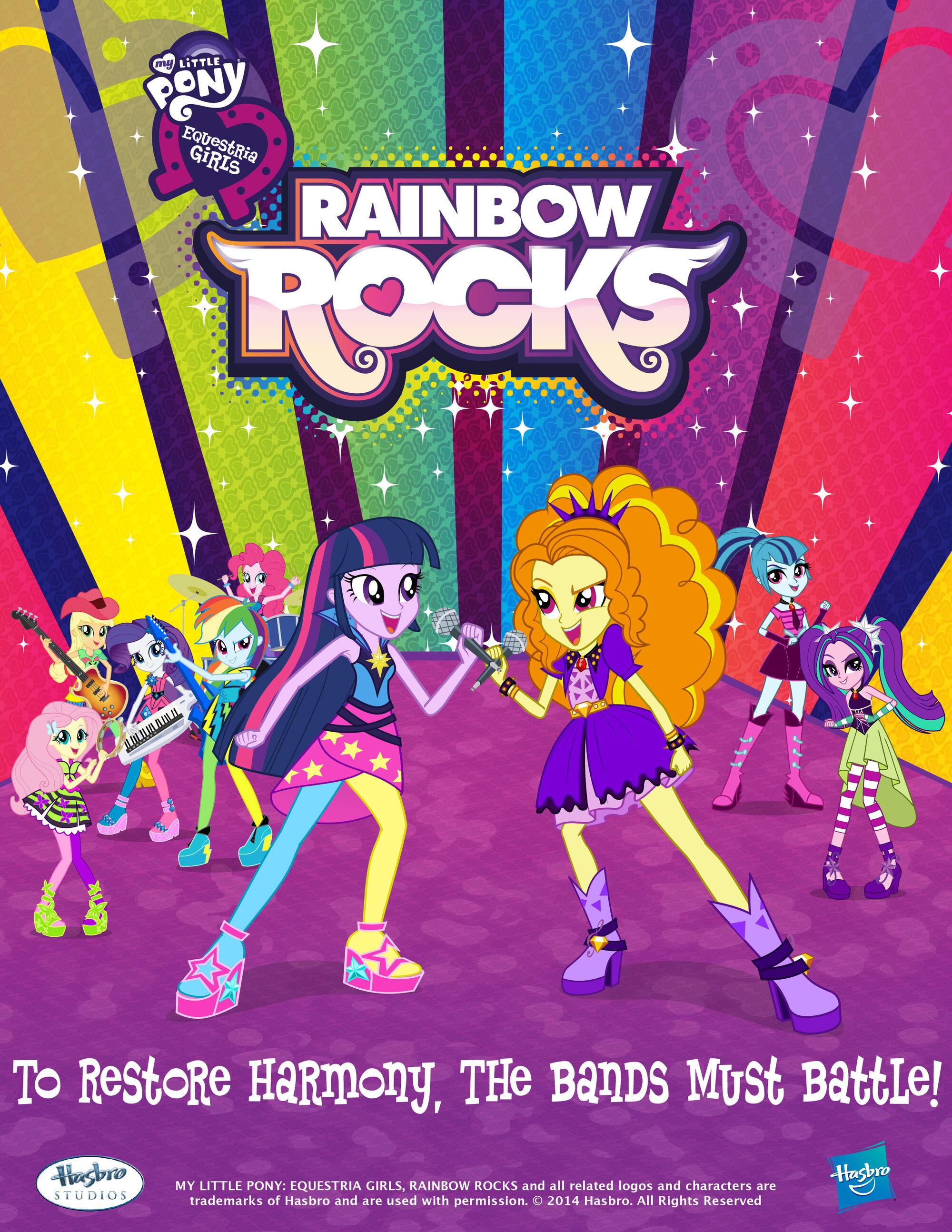 My Little Pony Rainbow Rocks Deutsch