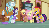 """Rarity """"you don't have to do anything you don't want to"""" S5E21"""