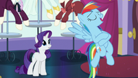 """Rainbow """"and eat awesome food at the dinner tonight"""" S5E15"""