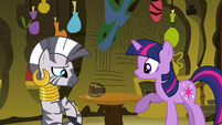 Twilight notices what she did S3E05