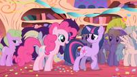 Pinkie Pie 'You surprised?' S1E1
