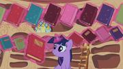Twilight Sparkle reshelf books 3 S02E10