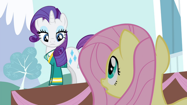 File:Fluttershy 'Otherwise, the fundraiser will be a disaster!' S4E14.png