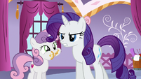 "Rarity ""this is Dash's idea of a prank"" S6E15"