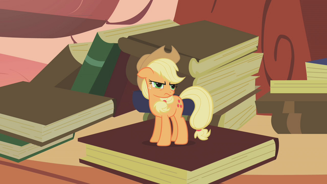 "File:Spike calls Applejack ""Apple Teeny"" S1E09.png"