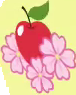 Apple Flora cutie mark crop S3E8.png