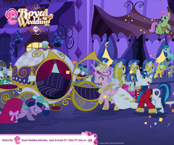 File:Canterlot Wedding Wallpaper 2.jpg