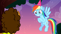 "Rainbow Dash ""the best birthday anniversary super combo"" S4E12"
