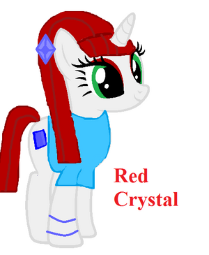 FANMADE OC Red Crystal