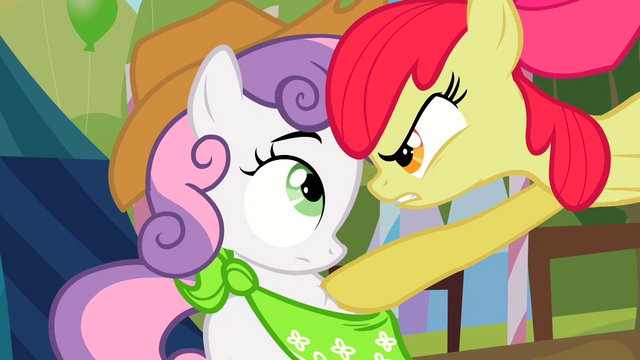 "File:Apple Bloom ""ONE! DAY!"" S2E5.png"