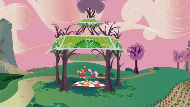 File:Big Mac Cheerilee gazebo farway shot S2E17.png