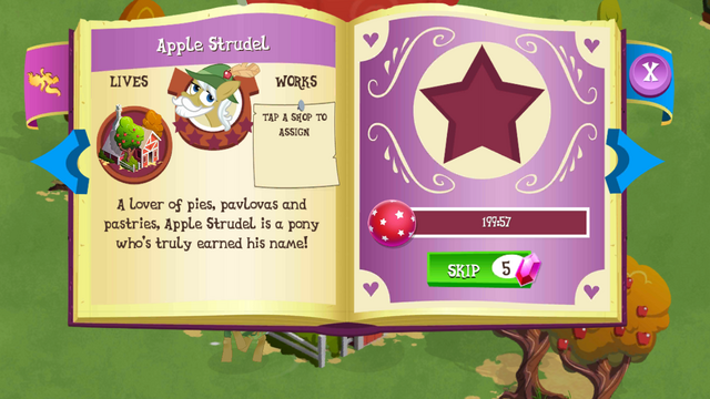 File:Apple Strudel album page MLP mobile game.png