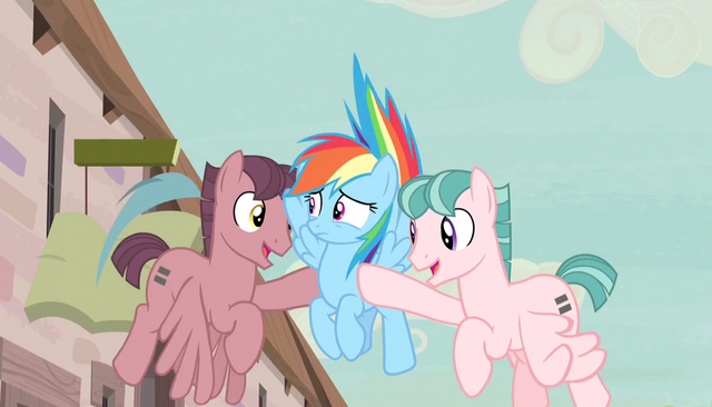 File:Red and pink stallions pull Rainbow to the ground S5E1.png