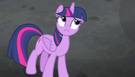 "Twilight Sparkle ""What makes you say that?"" S5E1"