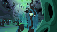 Queen Chrysalis mocks Starlight's rescue attempt S6E26