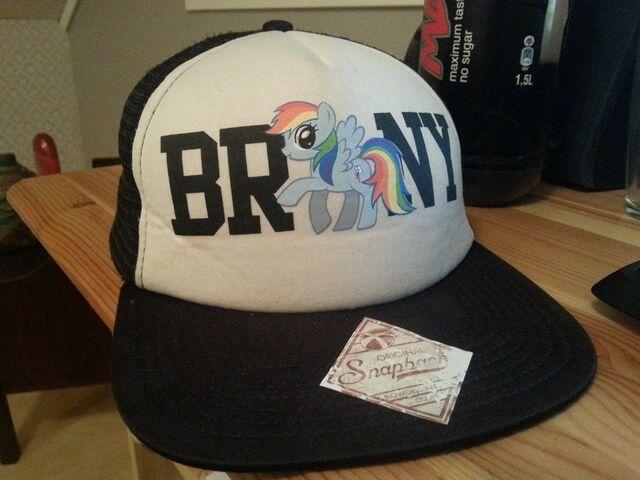 File:My Brony cap.jpg