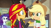 "Sunset Shimmer ""what happened back there"" EG2"