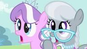 Diamond Tiara and Silver Spoon surprised S02E06