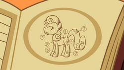 Picture of the pony with cutie pox S02E06