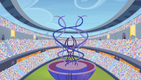 Games stadium torch platform view S4E24