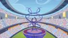 Games stadium torch platform view S4E24