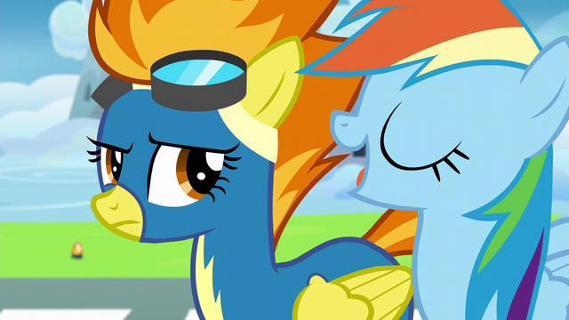 File:Rainbow shows off her Wonderbolts knowledge S6E7.png
