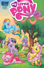 Comic issue 4 cover A