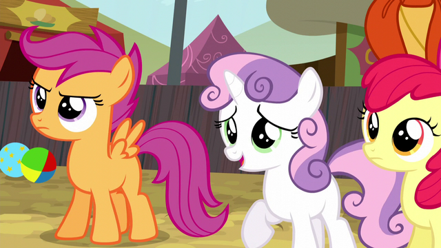 File:Sweetie Belle defends Trouble Shoes S5E6.png