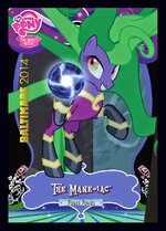 The Mane-iac exclusive trading card