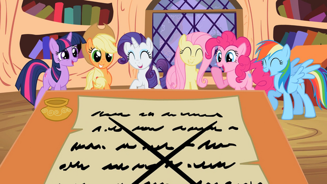 File:Main ponies Laughing S2E3.png