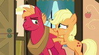 "Applejack ""you know how Big Mac can get"" S6E23"