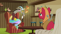 Discord recalling The Return of Harmony S6E17