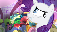 Rarity crazy smile S4E23