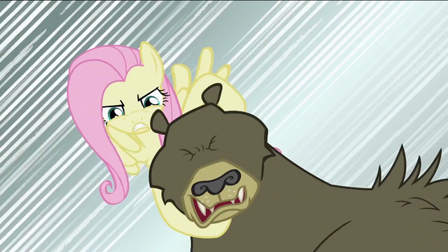File:Fluttershy about to break bear's neck S2E03.png